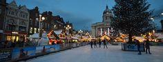 Christmas Market, Nottingham, Enland