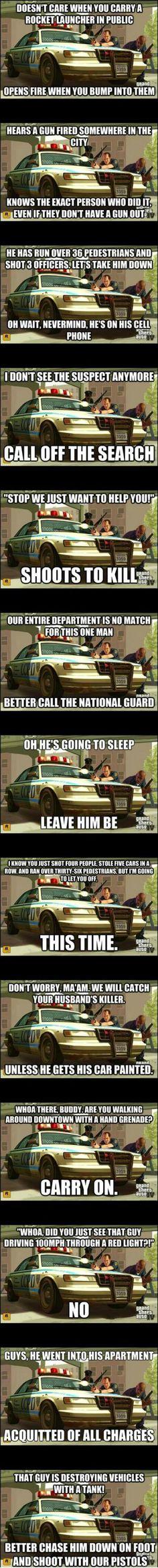 GTA IV Logic