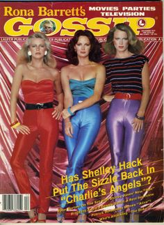 Movie Teen Gossip Magazine Charlie's Angels Linda Blair Robert Conrad Tony Danza
