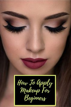 Light Makeup Looks, Simple Makeup Looks, Old Makeup, Crazy Makeup, How To Apply Eyeshadow, How To Apply Makeup, Vintage Bridal Makeup, Eye Makeup Steps, Makeup Tips For Beginners