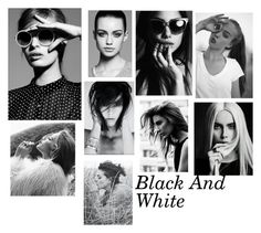 """Black And White"" by foreverfashion21-1 ❤ liked on Polyvore featuring Trowbridge and blackandwhite"