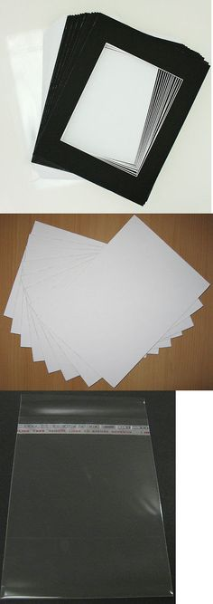 Framing Mats 37576: Pack Of 25 11X14 White Picture Mat White Core ...