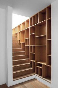 階段壁収納