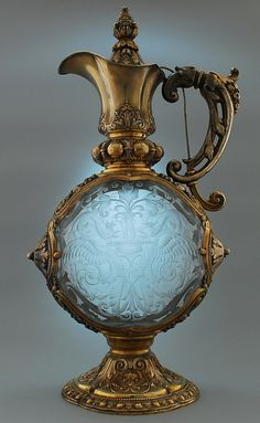 Antique Perfume Bottle - Carl Weihupt - Munich 1895/96