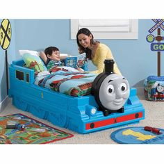 77+ Used Thomas the Train toddler Bed - Ideas for Decorating A Bedroom Check more at http://davidhyounglaw.com/20-used-thomas-the-train-toddler-bed-low-budget-bedroom-decorating-ideas/
