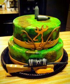 Camo hunting cake Pink Camo Cakes, Beautiful Cakes, Amazing Cakes, Cupcake Cakes, Cupcakes, Retirement Cakes, Cakes For Men, Cake Decorating, Decorating Ideas