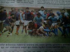 Bangalore Rugby Team & Me