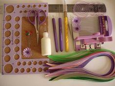Gli strumenti del quilling - Handmade in Italy
