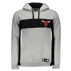 Moletom New Era NBA Chicago Bulls Cinza Somente na FutFanatics você compra  agora Moletom New Era 6e4652806fd