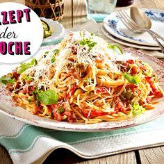 Tellerrand: Spaghetti mit No-cook-Tomatensoße - Lieblingsrezept der Woche