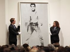 Warhol 'Elvis' fetched $37,000,000 at NYC auction