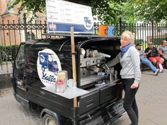 Copenhagen. Got to be the smallest Coffee Truck around!