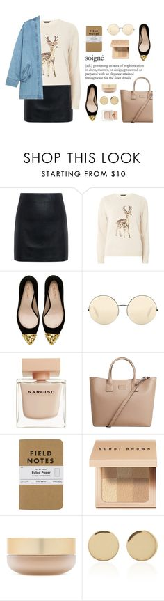 """• soigné •"" by adinaking ❤ liked on Polyvore featuring McQ by Alexander McQueen, Dorothy Perkins, Zara, Victoria Beckham, Narciso Rodriguez, MANGO, Bobbi Brown Cosmetics, Eve Lom, Magdalena Frackowiak and Steve J & Yoni P"