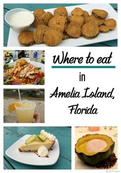 Where to eat in Amelia Island Florida | Fernandina Beach restaurants | Jacksonville Florida