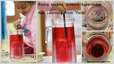 'Magma' (molten rocks) Kids Science Experiment: Learning from 'Fails' www.mommy-labs.com
