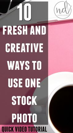 Take the boredom (and high cost) out of using stock photography for your blog. Here are 10 fresh and creative ways to use one stock photo!