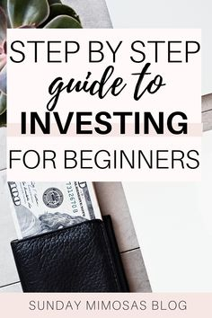 Learn how to start investing in stocks with little money! This is a simple step by step guide to investing for beginners. We go over investing 101, investing money for beginners tips, how to invest money and more! #moneytips #investing Stock Market Investing, Investing In Stocks, Investing Money, Best Money Saving Tips, Saving Money, Business Ideas India, Amazing Life Hacks, Mimosas, Budgeting Finances