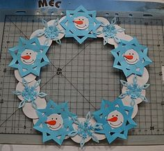 Snowflake craft idea for kids – Crafts and Worksheets for Preschool,Toddler and Kindergarten