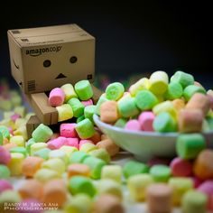 muahaha i have all the marshmallows in the woooooorld :)
