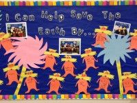 April Bulletin Board: Lorax: I can help save the earth by...