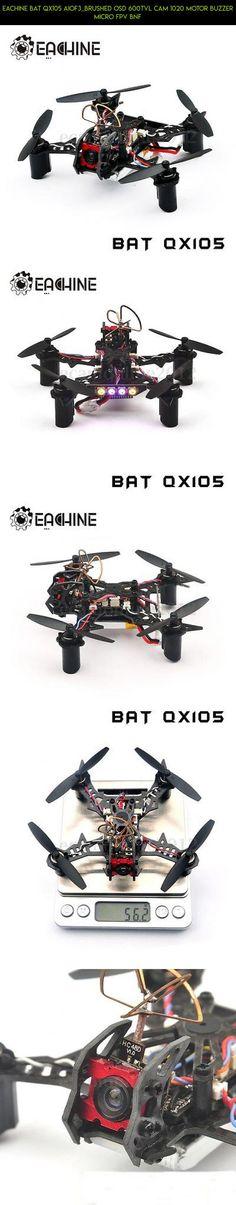Eachine BAT QX105 AIOF3_BRUSHED OSD 600TVL CAM 1020 Motor Buzzer Micro FPV BNF #bat #gadgets #racing #products #tech #camera #drone #kit #parts #eachine #technology #shopping #plans #fpv
