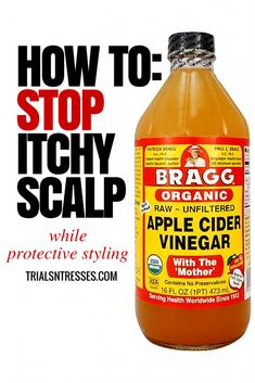 Quick easy DIY fix to stop itchy scalp for good!