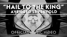 Avenged Sevenfold - Hail To The King [Official Music Video] OMG I LOVE SINISTERS GUITAR PLAYIN IN THIS SONG... HE IS SO FREAKIN AMAZING AND HOT!!