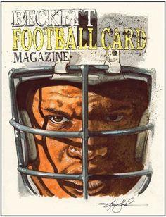 Bo-Jackson-Beckett-Football-Original-Artwork-by-Kevin-John-Jobczynski