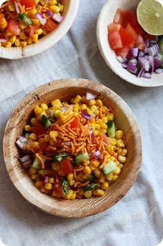 Monsoon Spice | Unveil the Magic of Spices...: Spicy Corn Chaat/Salad Recipe | How to Make Healthy Sweet Corn Chaat