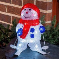 Für Freunde des Ski-Sports: unser Schneemann auf Skiern! #Weihnachten kann eben doch ganz leicht ganz individuell sein.