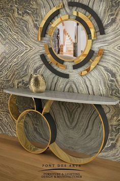 TG-Studio in London - Abode of International Interior Design Projects Luxury Interior, Luxury Furniture, Interior Architecture, Furniture Design, Gold Furniture, Furniture Nyc, Modern Console Tables, Modern Table, Storage Design