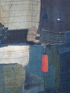 Japanese boro textiles.
