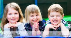 A family portrait session of a young Lymm family
