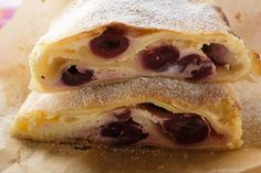 Sour Cherries Find a Home in This Flaky Croatian Strudel Cherry Strudel Recipes, Cherry Recipes, Apple Strudel, Nut Roll Recipe, Rolls Recipe, Croatian Recipes, Hungarian Recipes, Croatian Cuisine, Gourmet Recipes