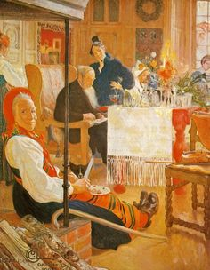 Simple Virtues: Carl Larsson and the Christmas Dress