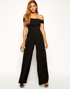 Turn up the drama with a wide leg jumpsuit.