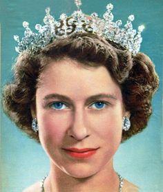 A young Princess Elizabeth in 1951.