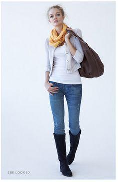 so cute #skinnies #boots