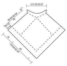 "Desert Star - Gehaakte DROPS poncho met veelkleurig patroon van ""Eskimo"". Maat S-XXXL. - Free pattern by DROPS Design"