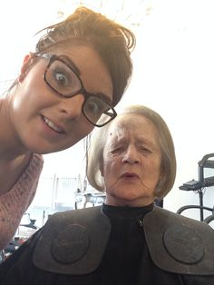 I like to take my Nana to get her haircut, even though I live in York. I am the only person she will let tell the hairdresser what to do, and so this makes me feel special to her. I feel part of her life even though I don't see her much.