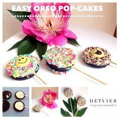 Oreo pop-cakes.
