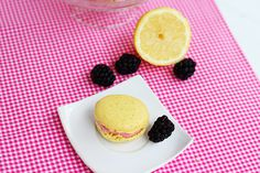 These lemon macarons with mixed berry buttercream will have your taste buds jumping for joy! These flavors bring me back to my childhood summer vacations.