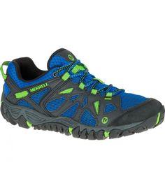 Zapatillas de Senderismo Merrell All Out Blaze Aero Sport Hombre, malla superior. Su eficiencia viene de la entresuela Unifly.  http://www.shedmarks.es/zapatillas-trekking-y-senderismo-hombre/3709-zapatillas-merrell-all-out-blaze-aero-sport.html