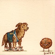 It's weird that I've seen Air Bud a bunch of times, huh? (The Great Showdowns by Scott C.)
