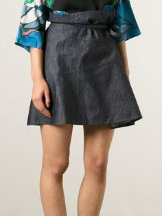 Marni Denim Skirt - Spazio Pritelli - Farfetch.com