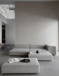 Extrawall seating system by Piero Lissoni for Living Divani.