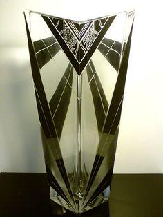 a stunning Palda art deco vase