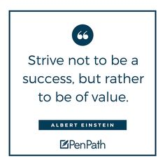 Listen to Albert, he knows his stuff. #ContentMarketing #AlbertEinstein #PenPath