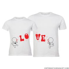 My Love is Yours™ Matching Couple Shirts