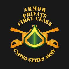 Check out this awesome 'Armor+-+Enlisted+-+Private+First+Class+-+PFC' design on @TeePublic!